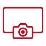 Digitale Aufnahme(rot)