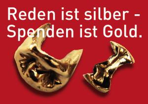 Gold spenden
